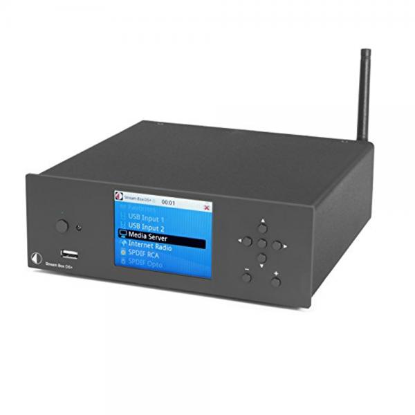 Pro-Ject Stream Box DS+ Black UNI Netzwerk Audio-Player -Abverkauf