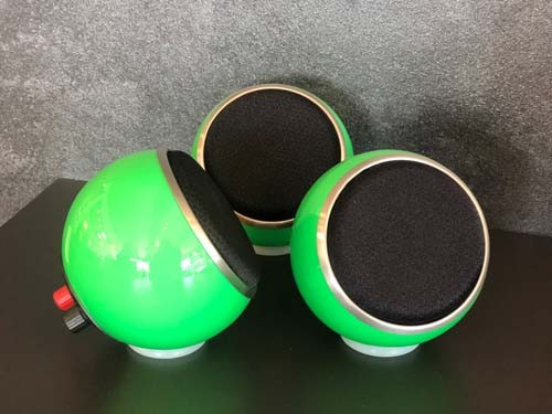 Anthony Gallow Micro SE speaker in special colour gras green