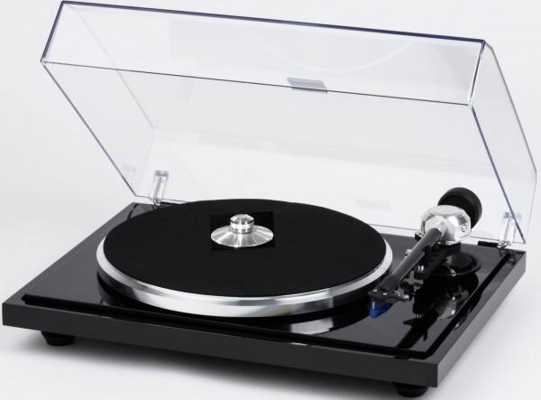 EAT B-Sharp SuperPack Plattenspieler in Piano schwarz (inkl. Ortofon 2M Blue)